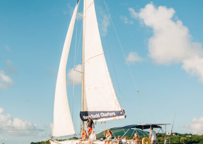Sailing trips between st kitts and nevis