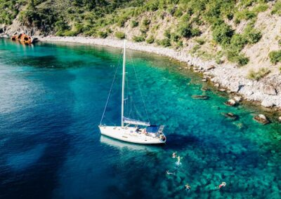 Private sail and snorkel trips in St Kitts & Nevis