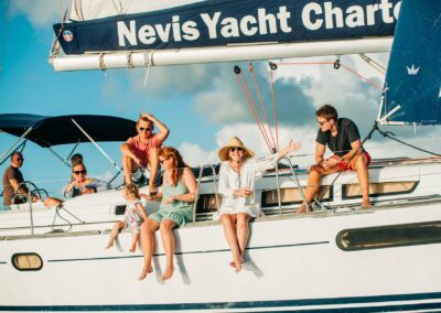 a family sailing and snorkeling trip in st kitts and nevis