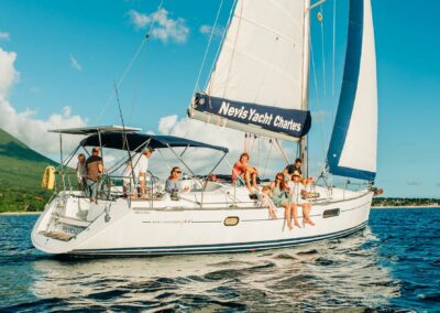 a great family day out sailing in st kitts and nevis
