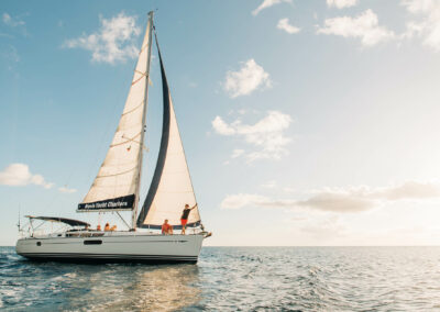 book a sunset sail in st kitts and nevis