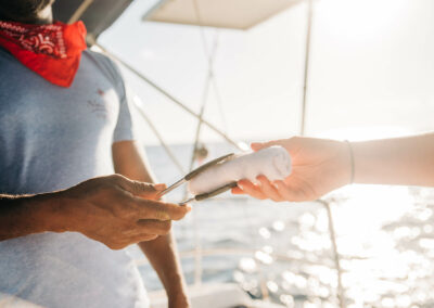 clean hands on board nevis yacht charters