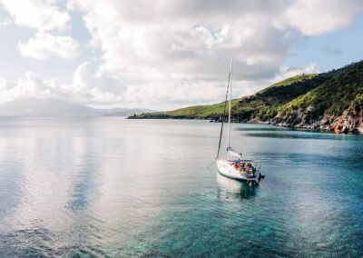 Sail the beautiful twin islands of St Kitts & Nevis