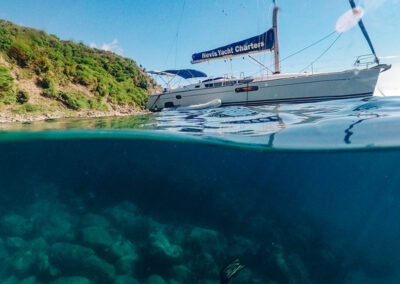 Dive beneath the waves in St Kitts & Nevis