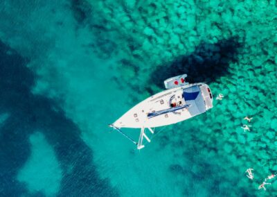 Nevis Yacht Charters - the view from above