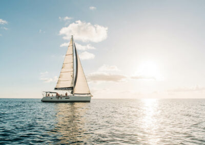 private sunset yacht charters in st kitts and nevis