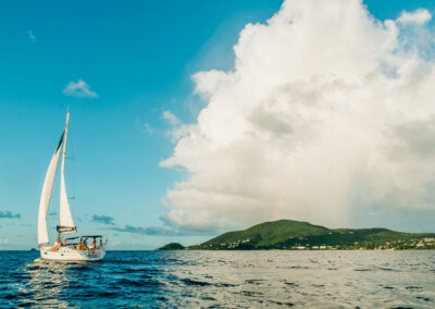 private yacht charter off the coast of nevis west indies