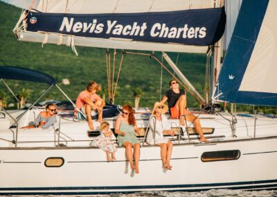 relax and enjoy the breeze with nevis yacht charters