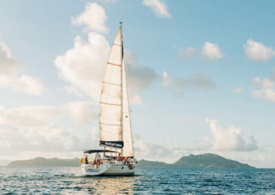 sailing to st kitts on your private yacht charter