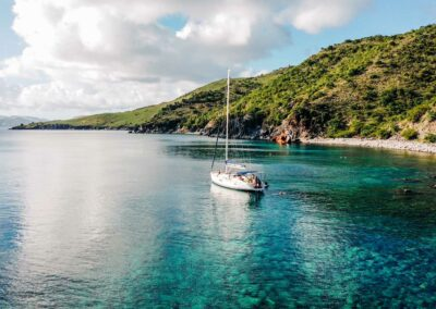 Private sailing and snorkeling trips in St Kitts & Nevis