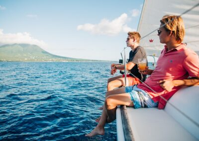st kitts and nevis sailing in style on your private yacht charter