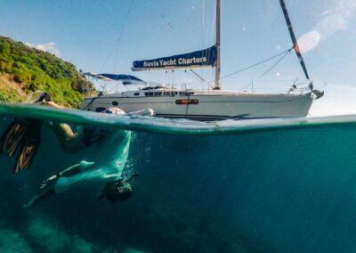 Sailing & Snoorkeling Trips in St Kitts & Nevis